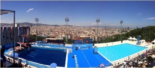 Zwembad barcelona